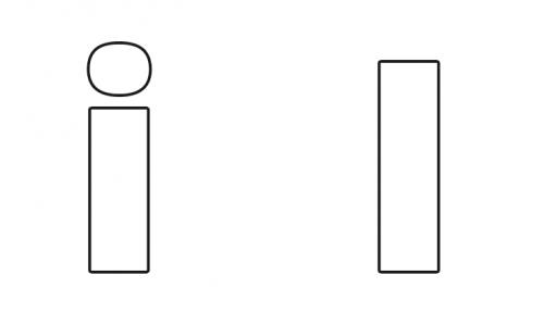 Moldes De Letras Grandes Para Imprimir Mayúsculas Y