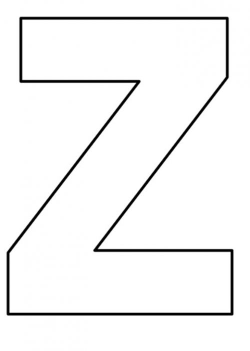 Moldes De Letras Grandes Para Imprimir Mayusculas Y Minusculas