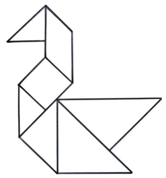 Tangram Figuras Para Descargar E Imprimir Todo Imágenes