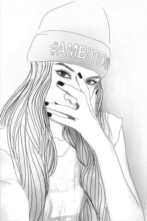49 Dibujos Tumblr A Lapiz Color Y Blanco Y Negro Todo